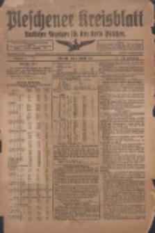 Pleschener Kreisblatt 1918.01.02 Jg.66 Nr1