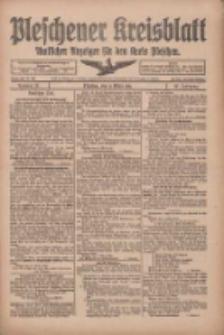 Pleschener Kreisblatt: Amtliches Anzeiger für den Kreis Pleschen 1918.03.13 Jg.66 Nr21