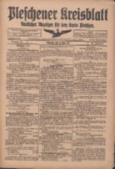 Pleschener Kreisblatt: Amtliches Anzeiger für den Kreis Pleschen 1918.06.15 Jg.66 Nr48