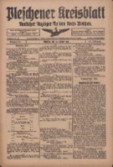 Pleschener Kreisblatt: Amtliches Anzeiger für den Kreis Pleschen 1918.10.16 Jg.66 Nr83