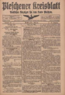 Pleschener Kreisblatt: Amtliches Anzeiger für den Kreis Pleschen 1918.06.01 Jg.66 Nr44