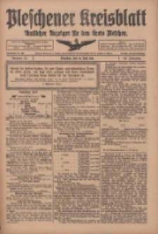 Pleschener Kreisblatt: Amtliches Anzeiger für den Kreis Pleschen 1918.06.29 Jg.66 Nr52