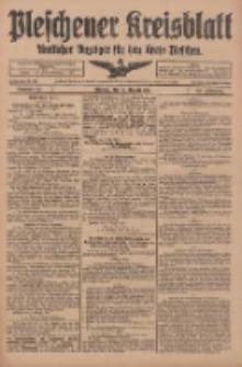 Pleschener Kreisblatt: Amtliches Anzeiger für den Kreis Pleschen 1918.08.10 Jg.66 Nr64