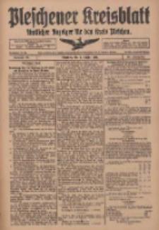 Pleschener Kreisblatt: Amtliches Anzeiger für den Kreis Pleschen 1918.10.05 Jg.66 Nr80