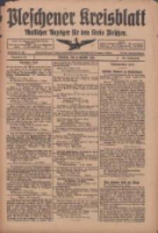 Pleschener Kreisblatt: Amtliches Anzeiger für den Kreis Pleschen 1918.10.12 Jg.66 Nr82