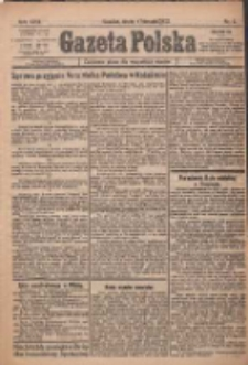 Gazeta Polska: codzienne pismo polsko-katolickie dla wszystkich stanów 1922.01.04 R.26 Nr3
