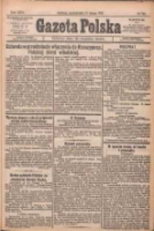 Gazeta Polska: codzienne pismo polsko-katolickie dla wszystkich stanów 1922.02.13 R.26 Nr35