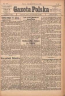 Gazeta Polska: codzienne pismo polsko-katolickie dla wszystkich stanów 1922.04.20 R.26 Nr91