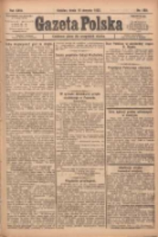 Gazeta Polska: codzienne pismo polsko-katolickie dla wszystkich stanów 1922.08.16 R.26 Nr185