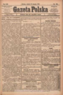 Gazeta Polska: codzienne pismo polsko-katolickie dla wszystkich stanów 1922.08.22 R.26 Nr190