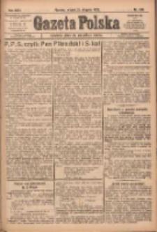 Gazeta Polska: codzienne pismo polsko-katolickie dla wszystkich stanów 1922.08.29 R.26 Nr196
