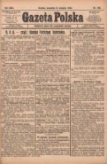 Gazeta Polska: codzienne pismo polsko-katolickie dla wszystkich stanów 1922.08.31 R.26 Nr198