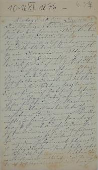 Dziennik Amalii Christine Hansen, opiekunki Heinego von Heydebranda 1876-1878