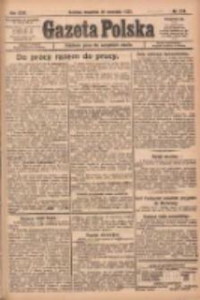 Gazeta Polska: codzienne pismo polsko-katolickie dla wszystkich stanów 1922.09.21 R.26 Nr216