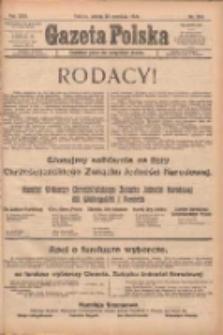 Gazeta Polska: codzienne pismo polsko-katolickie dla wszystkich stanów 1922.09.23 R.26 Nr218