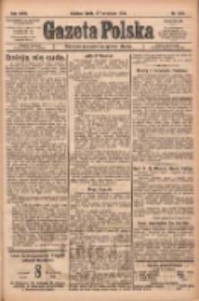 Gazeta Polska: codzienne pismo polsko-katolickie dla wszystkich stanów 1922.09.27 R.26 Nr221