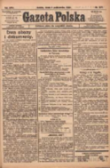 Gazeta Polska: codzienne pismo polsko-katolickie dla wszystkich stanów 1922.10.04 R.26 Nr227
