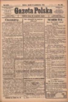 Gazeta Polska: codzienne pismo polsko-katolickie dla wszystkich stanów 1922.10.10 R.26 Nr232