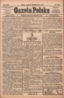 Gazeta Polska: codzienne pismo polsko-katolickie dla wszystkich stanów 1922.10.19 R.26 Nr240