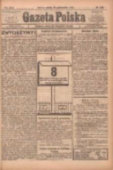 Gazeta Polska: codzienne pismo polsko-katolickie dla wszystkich stanów 1922.10.28 R.26 Nr248