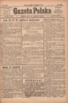Gazeta Polska: codzienne pismo polsko-katolickie dla wszystkich stanów 1922.11.03 R.26 Nr252