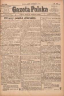 Gazeta Polska: codzienne pismo polsko-katolickie dla wszystkich stanów 1922.11.04 R.26 Nr253