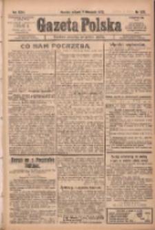 Gazeta Polska: codzienne pismo polsko-katolickie dla wszystkich stanów 1922.11.07 R.26 Nr255