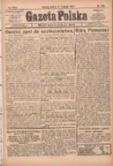 Gazeta Polska: codzienne pismo polsko-katolickie dla wszystkich stanów 1922.11.11 R.26 Nr259