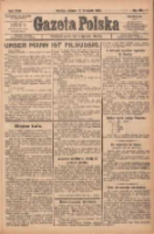 Gazeta Polska: codzienne pismo polsko-katolickie dla wszystkich stanów 1922.11.14 R.26 Nr261