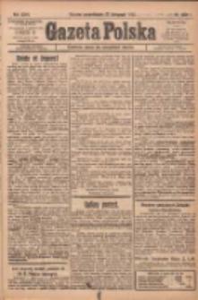 Gazeta Polska: codzienne pismo polsko-katolickie dla wszystkich stanów 1922.11.27 R.26 Nr272