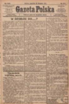 Gazeta Polska: codzienne pismo polsko-katolickie dla wszystkich stanów 1922.11.30 R.26 Nr274