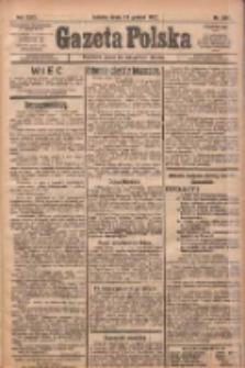 Gazeta Polska: codzienne pismo polsko-katolickie dla wszystkich stanów 1922.12.13 R.26 Nr284