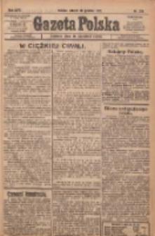 Gazeta Polska: codzienne pismo polsko-katolickie dla wszystkich stanów 1922.12.19 R.26 Nr289