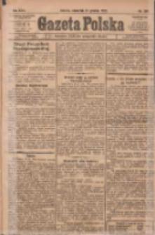 Gazeta Polska: codzienne pismo polsko-katolickie dla wszystkich stanów 1922.12.21 R.26 Nr291