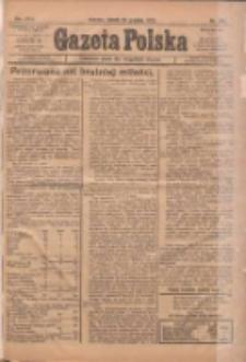 Gazeta Polska: codzienne pismo polsko-katolickie dla wszystkich stanów 1922.12.23 R.26 Nr293