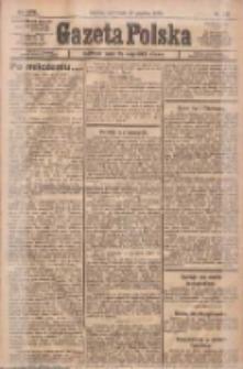 Gazeta Polska: codzienne pismo polsko-katolickie dla wszystkich stanów 1922.12.28 R.26 Nr295
