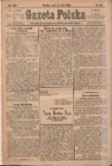 Gazeta Polska: codzienne pismo polsko-katolickie dla wszystkich stanów 1920.05.26 R.24 Nr118