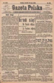 Gazeta Polska: codzienne pismo polsko-katolickie dla wszystkich stanów 1920.07.22 R.24 Nr165