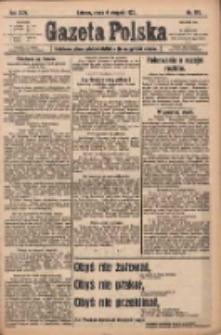 Gazeta Polska: codzienne pismo polsko-katolickie dla wszystkich stanów 1920.08.04 R.24 Nr176
