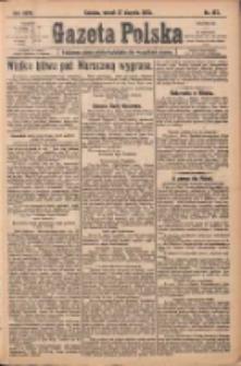 Gazeta Polska: codzienne pismo polsko-katolickie dla wszystkich stanów 1920.08.17 R.24 Nr187