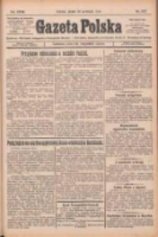 Gazeta Polska: codzienne pismo polsko-katolickie dla wszystkich stanów 1924.09.19 R.28 Nr217