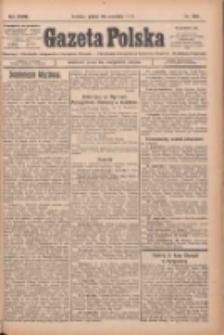 Gazeta Polska: codzienne pismo polsko-katolickie dla wszystkich stanów 1924.09.26 R.28 Nr223
