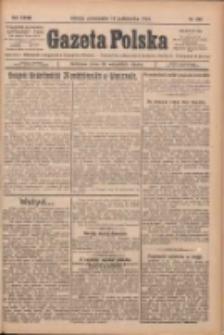 Gazeta Polska: codzienne pismo polsko-katolickie dla wszystkich stanów 1924.10.13 R.28 Nr237