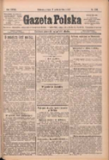 Gazeta Polska: codzienne pismo polsko-katolickie dla wszystkich stanów 1924.10.15 R.28 Nr239