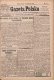 Gazeta Polska: codzienne pismo polsko-katolickie dla wszystkich stanów 1924.10.18 R.28 Nr242