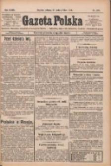 Gazeta Polska: codzienne pismo polsko-katolickie dla wszystkich stanów 1924.10.21 R.28 Nr244