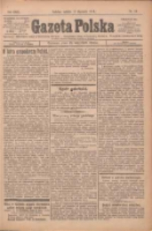 Gazeta Polska: codzienne pismo polsko-katolickie dla wszystkich stanów 1925.01.17 R.29 Nr13