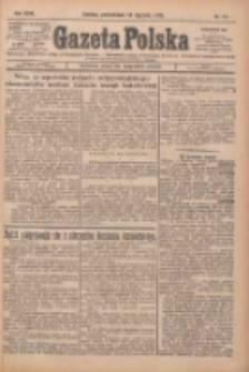 Gazeta Polska: codzienne pismo polsko-katolickie dla wszystkich stanów 1925.01.19 R.29 Nr14