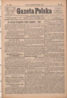 Gazeta Polska: codzienne pismo polsko-katolickie dla wszystkich stanów 1925.01.20 R.29 Nr15
