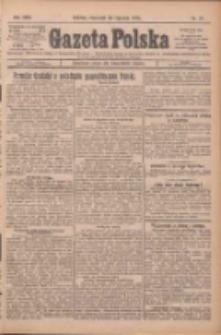 Gazeta Polska: codzienne pismo polsko-katolickie dla wszystkich stanów 1925.01.22 R.29 Nr17